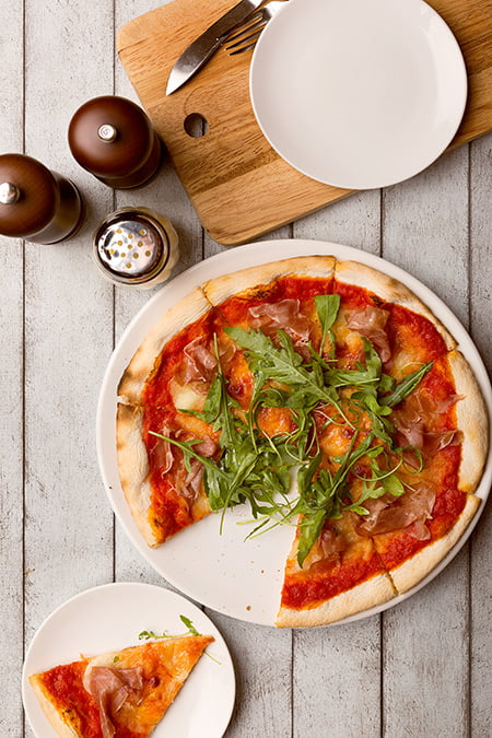 Italian Food Singapore - Prosciutto & Rucola Pizza