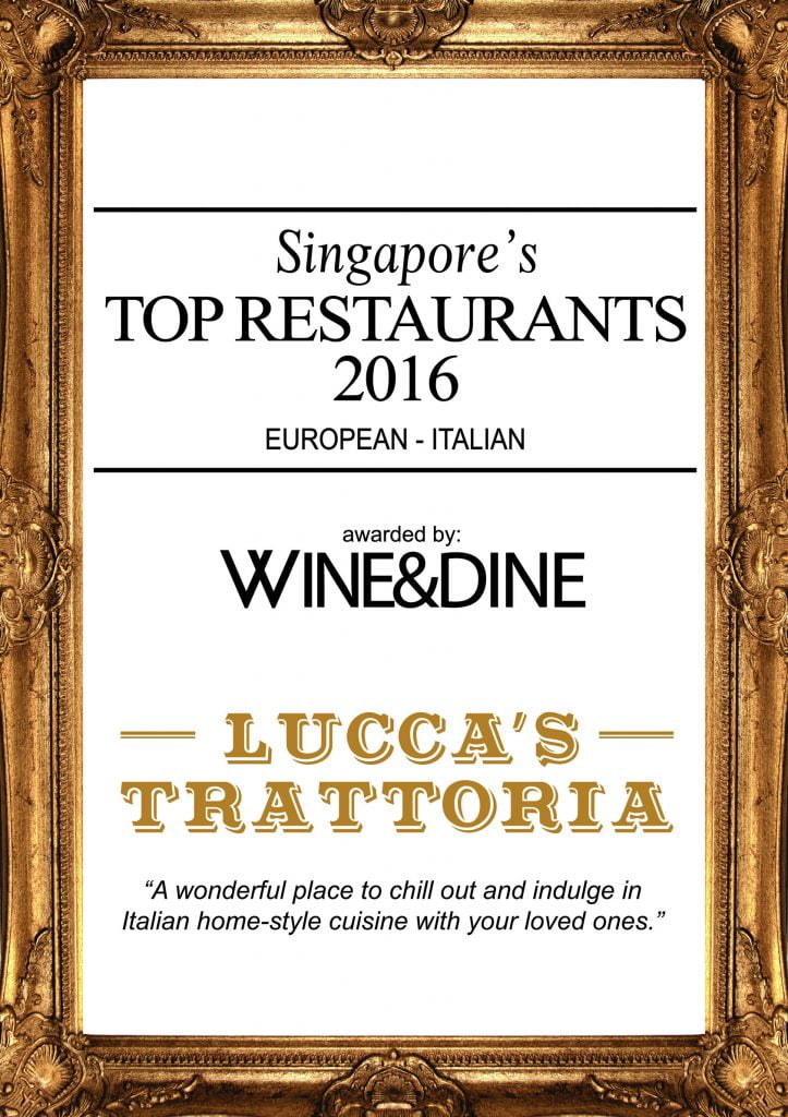Top Restaurant Award!