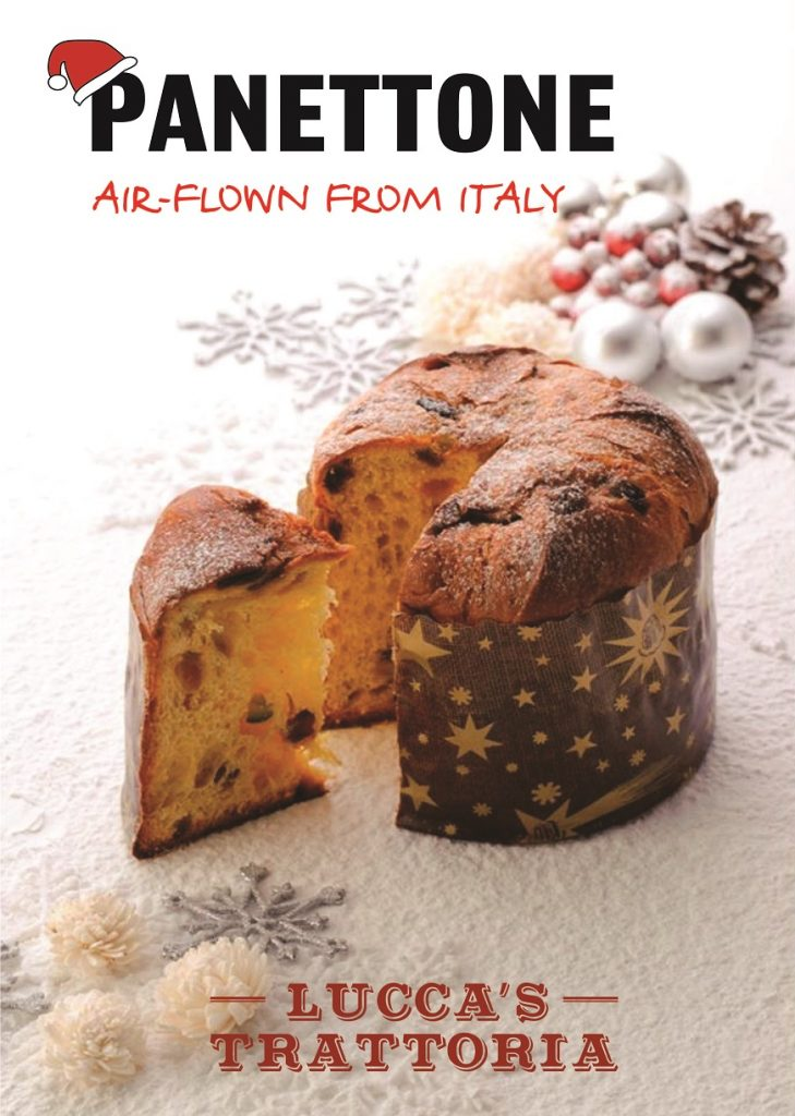 Authentic Christmas Panettone